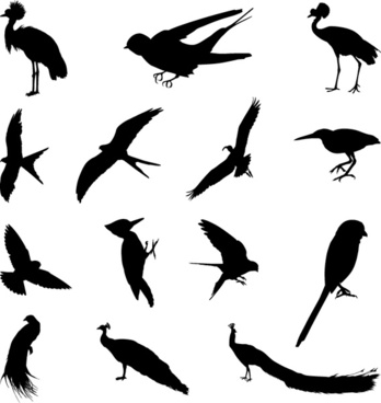 Bird silhouette clip art free vector download (221,622 Free.