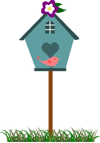 Free Birdhouse Clip Art.