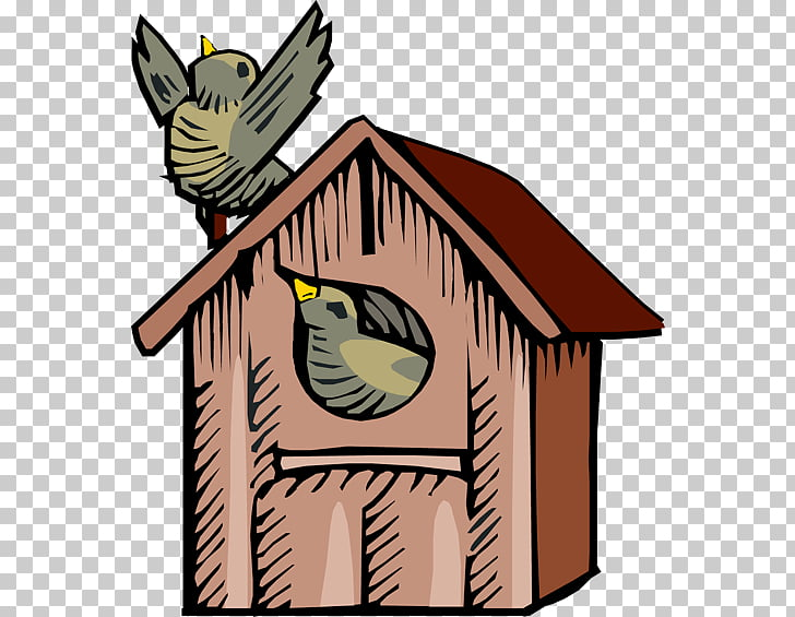 Bird Nest box , Birdhouse s PNG clipart.