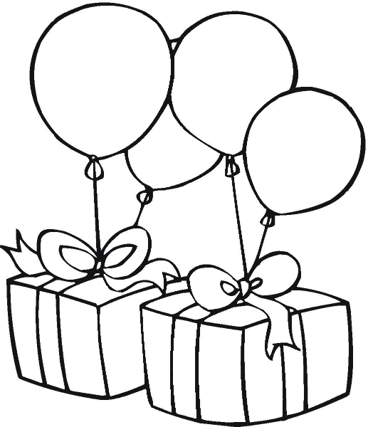 Birthday Clipart Black And White & Birthday Black And White Clip.