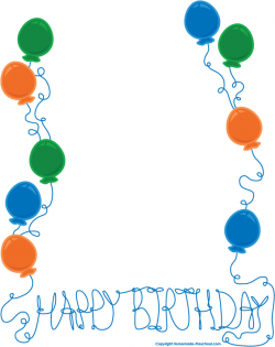 Border clipart birthday, Picture #289953 border clipart birthday.