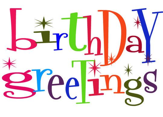 Free Birthday Clipart For Facebook.