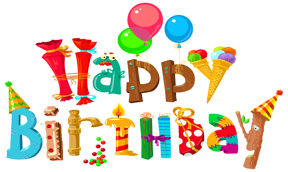 25 Free Printable Happy Birthday Coloring Pages.