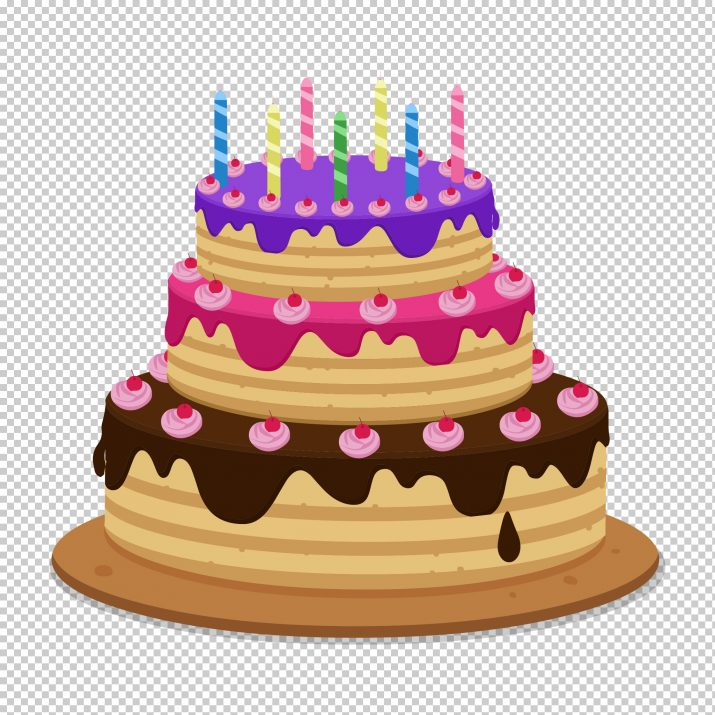 Birthday Cake PNG.