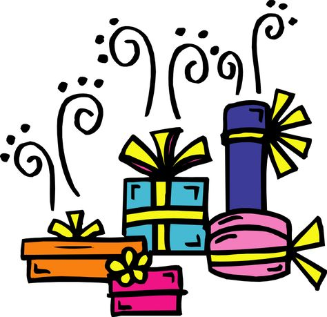 Free birthday birthday present clip art clipart.