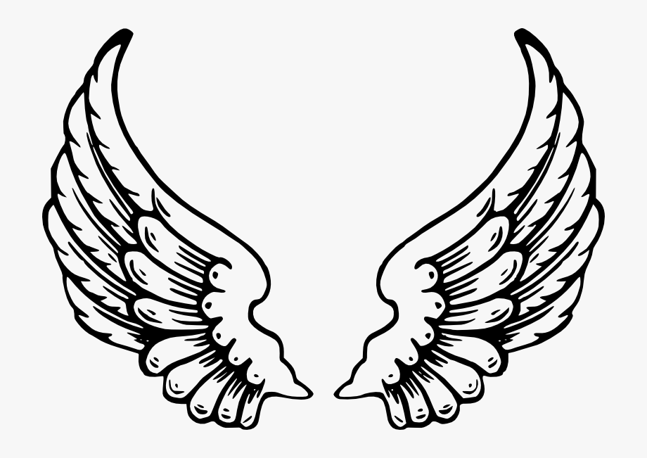 Christmas Angels Clipart Black And White.