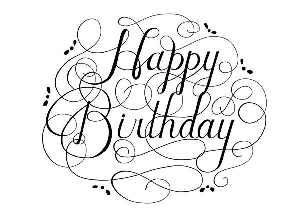 Happy Birthday Black And White Clipart Panda Free Clipart Images.