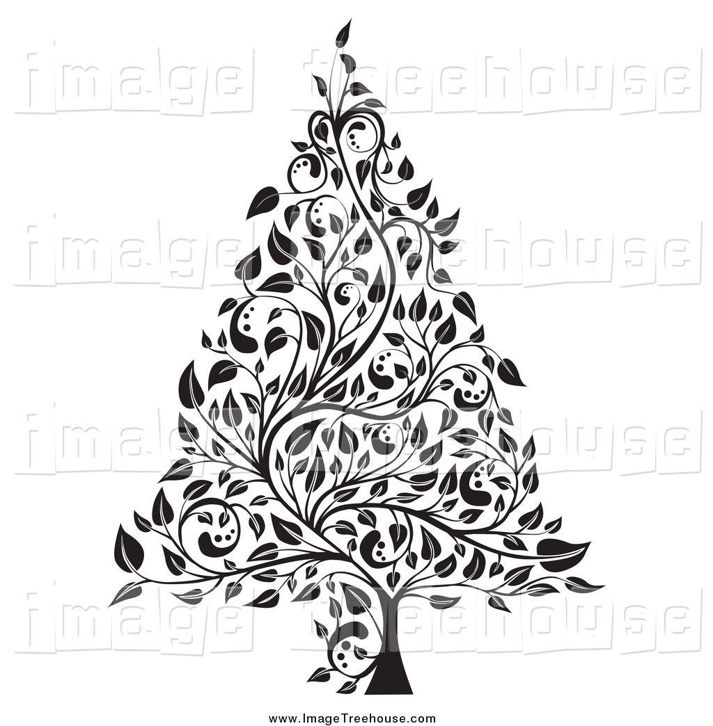 White Christmas Clipart.