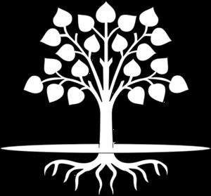 free black and white clipart tree with roots 20 free ...