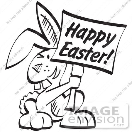 Easter Egg Clipart Black And White.