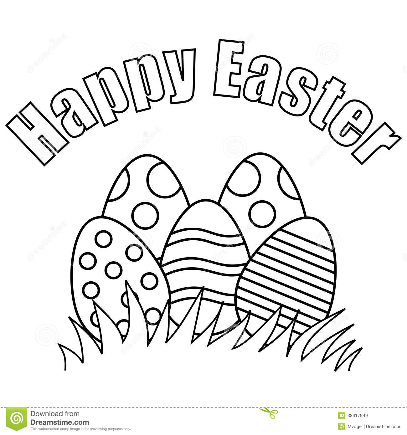 Easter Bunny With Eggs Clipart Black And White free black and ...