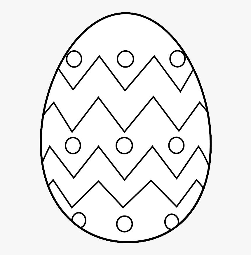 Easter Egg Clipart Black Free.