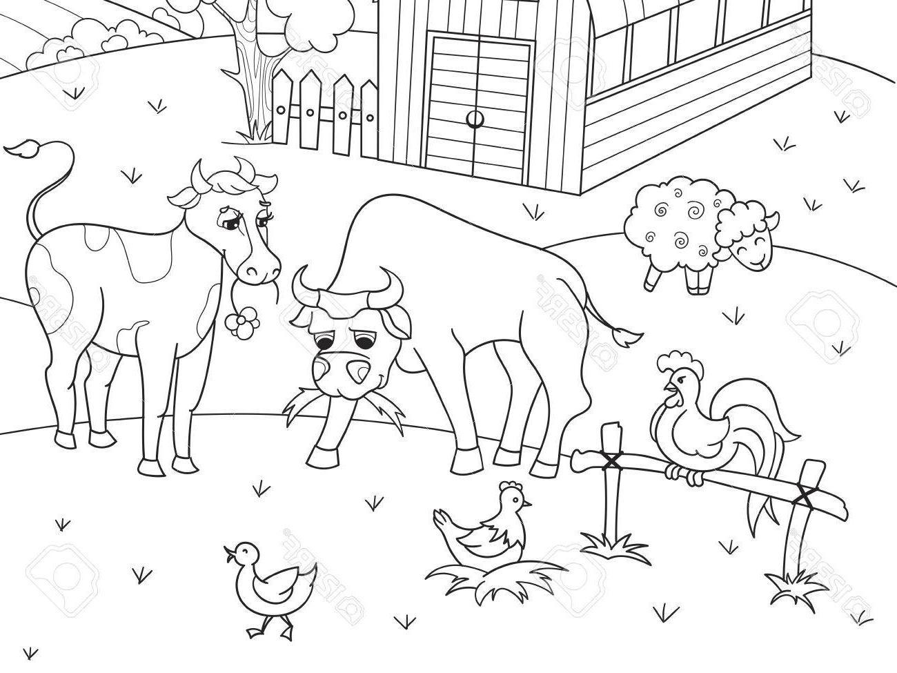 Top Farm Animal Printables Vector Photos » Free Vector Art, Images.