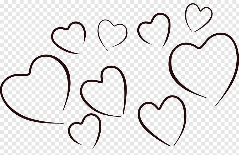 Heart, Heart White Black, White Hearts s free png.