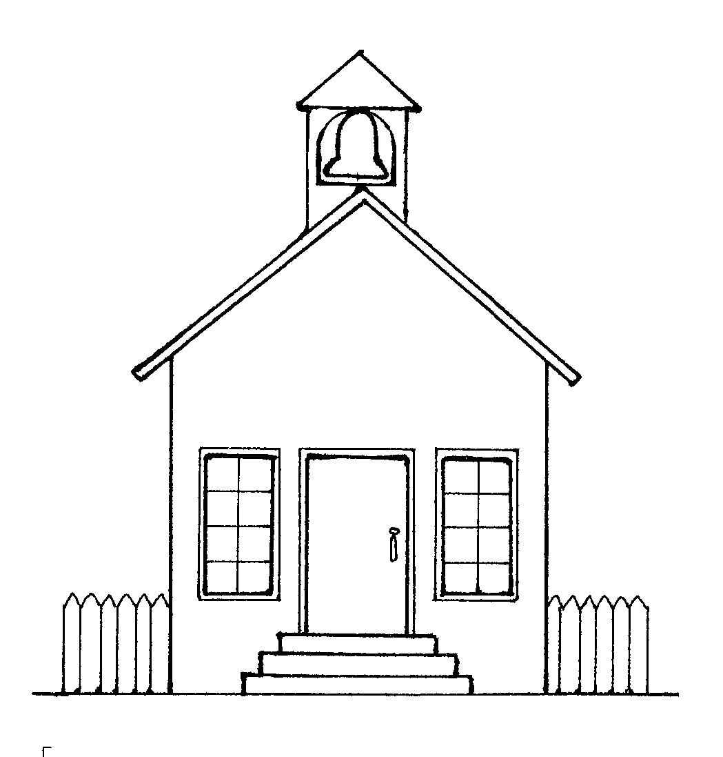 Free Black And White School Clipart College.