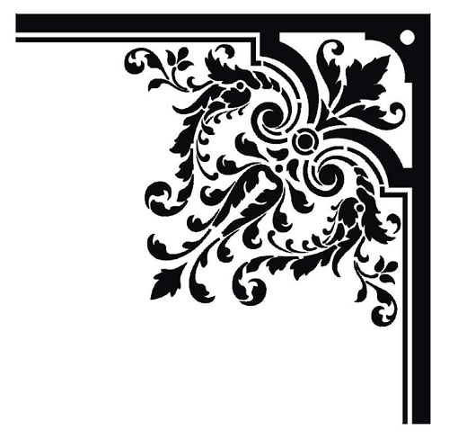 border, borders, damask, baroque, free, graphic design, vectors.