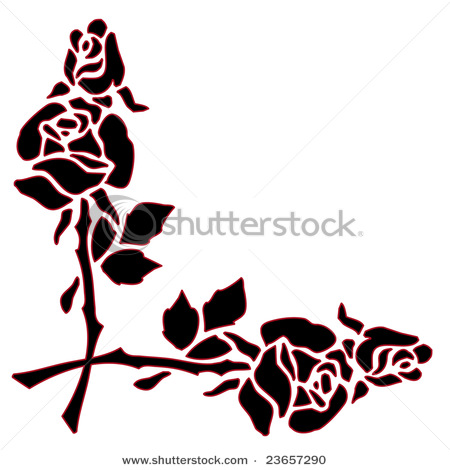 Fall Border Clipart Black And White.