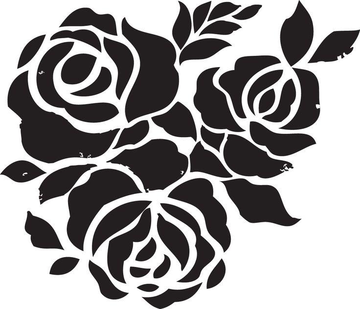 free black and white stencil border clipart 20 free Cliparts