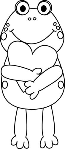 Valentine\'s Day Clipart Black And White.