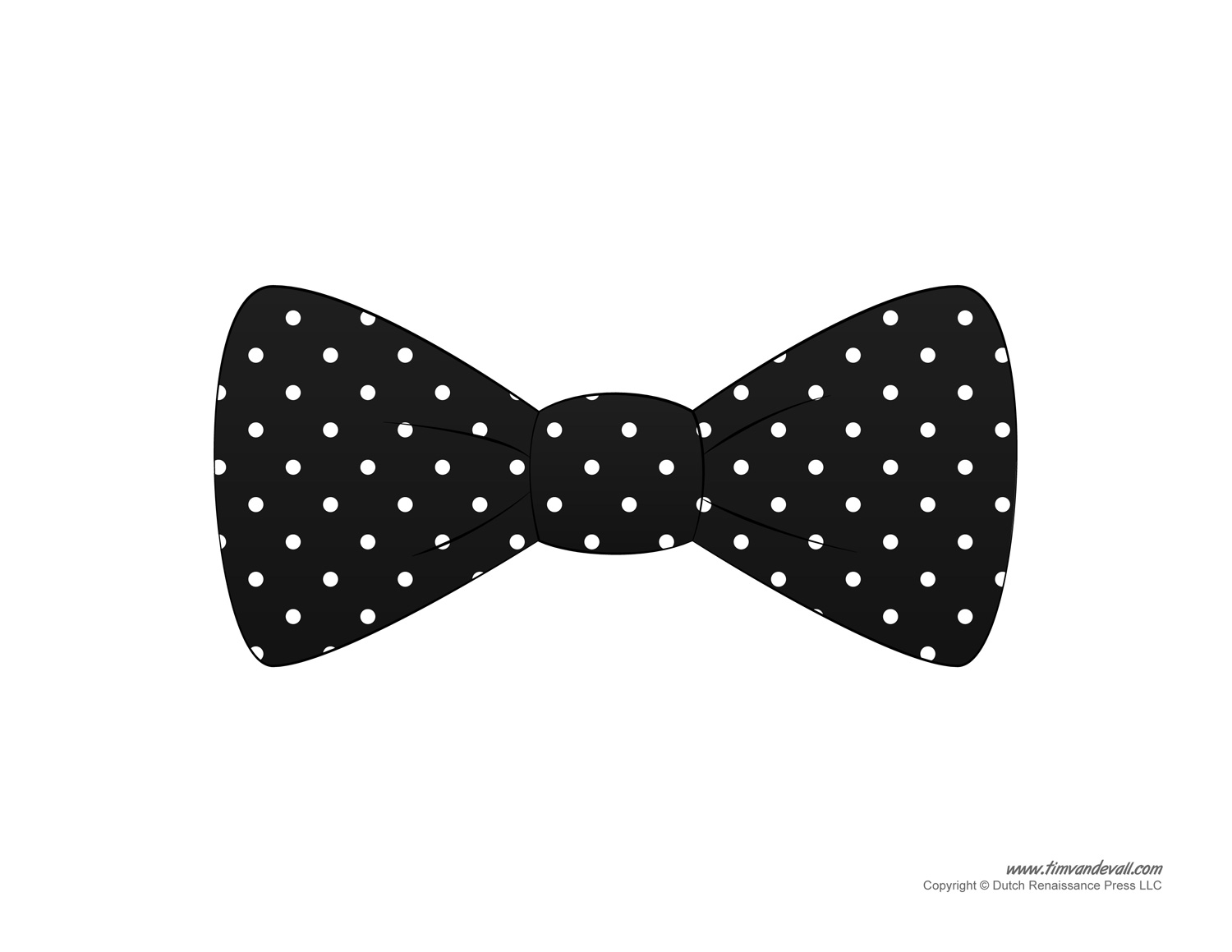 2092 Bow Tie free clipart.