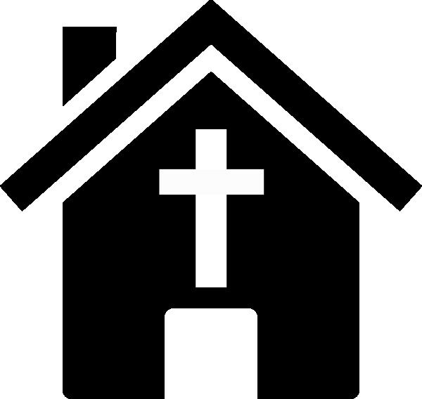 Black church clip art, free clipart.