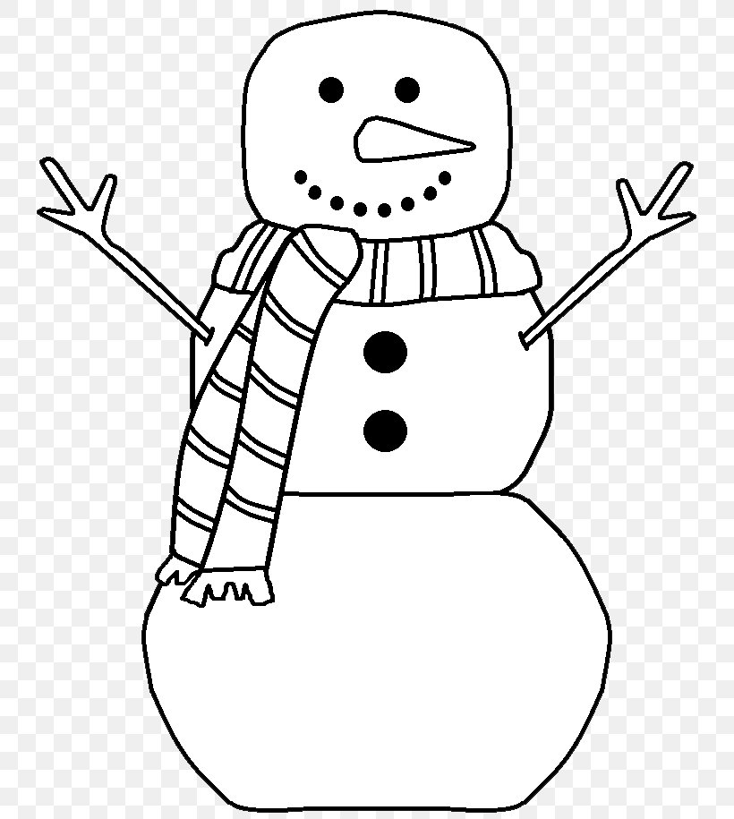 Black And White Snowman Free Content Clip Art, PNG.
