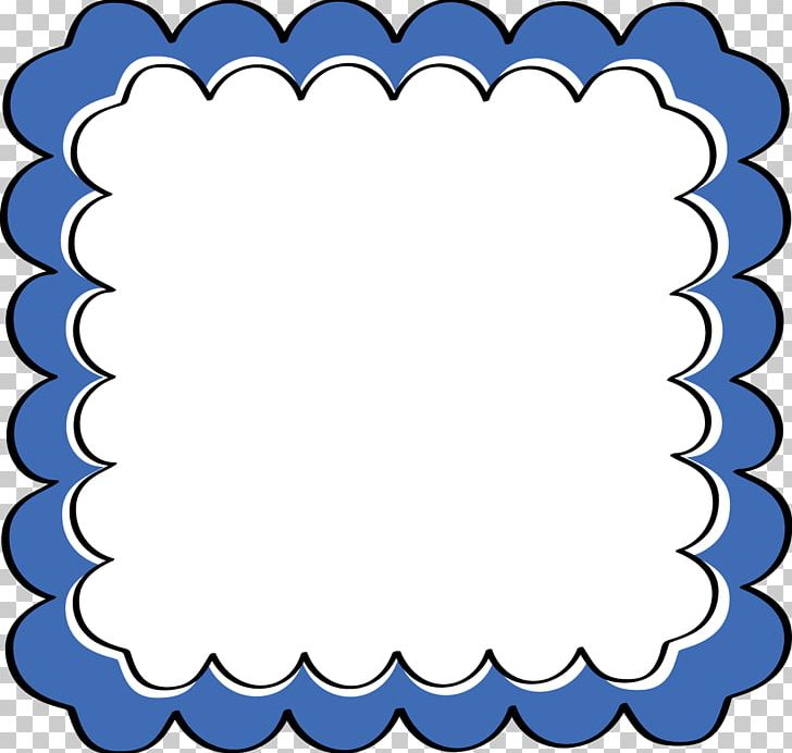 Borders And Frames Frames Blue PNG, Clipart, Area, Black And White.