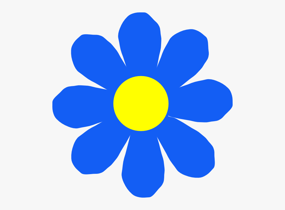 Free Blue Flowers Clipart The Cliparts.