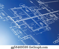Blueprints Clip Art.