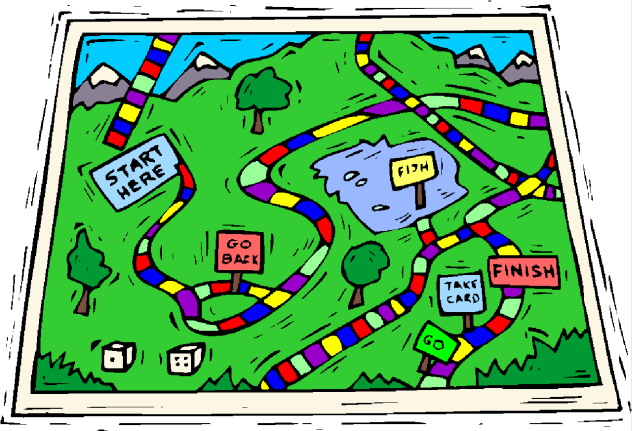 Board Game Clipart.