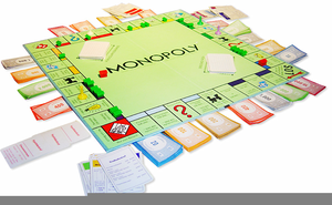 Monopoly Board Game Clipart Free.