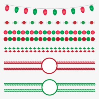 Free Christmas Border Free Clip Art with No Background.