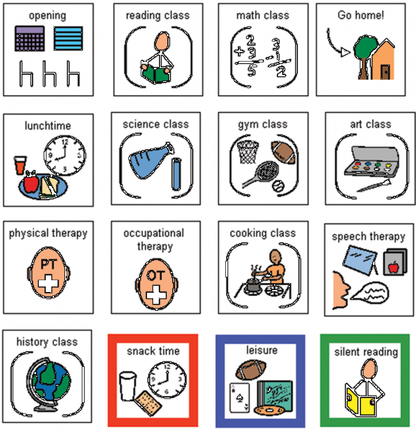 Free Boardmaker Symbols School.
