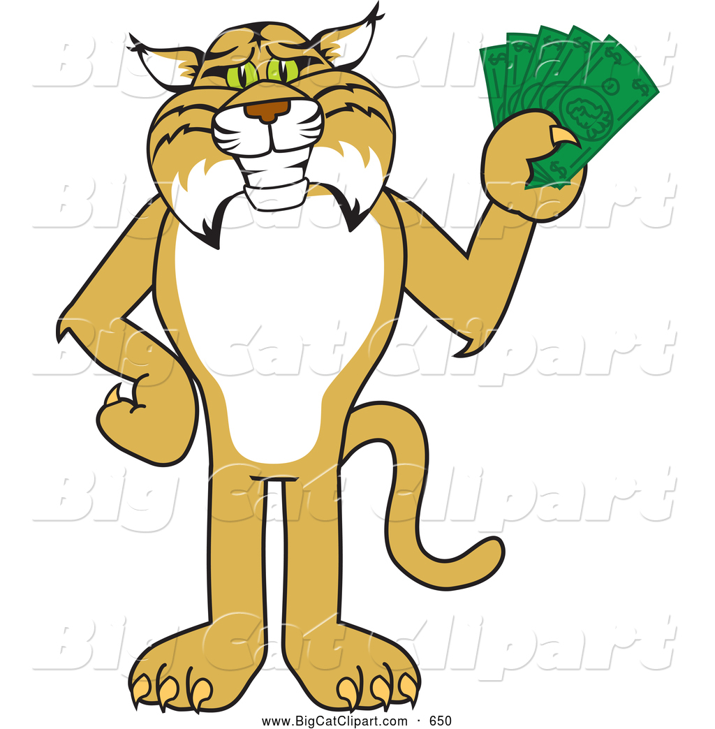 Free Bobcat Clipart Images.