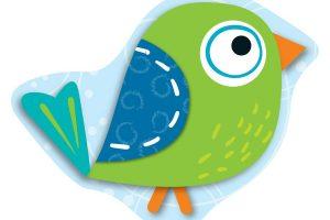 Boho birds clipart 1 » Clipart Station.