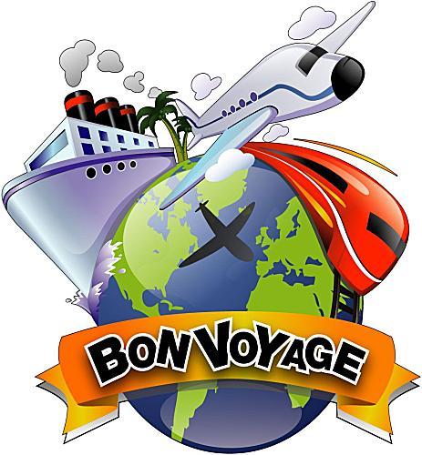 Bon Voyage Clip Art Free.