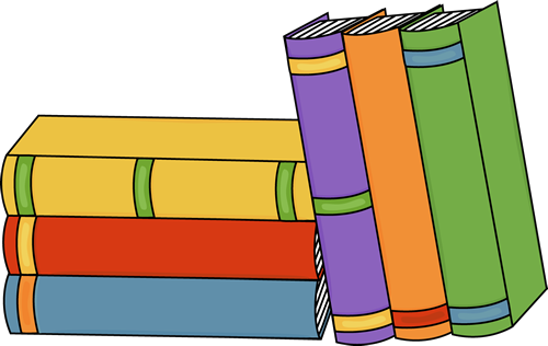 Stacked Books Graphics.