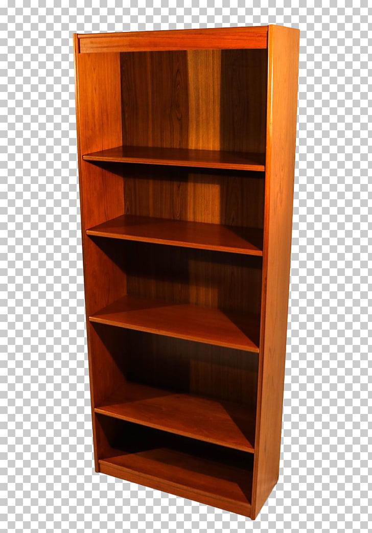 Shelf Bookcase Chiffonier Wood stain, bookshelf PNG clipart.
