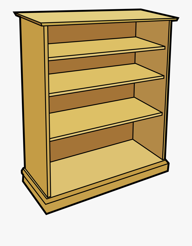 Classroom Clipart Bookshelf.