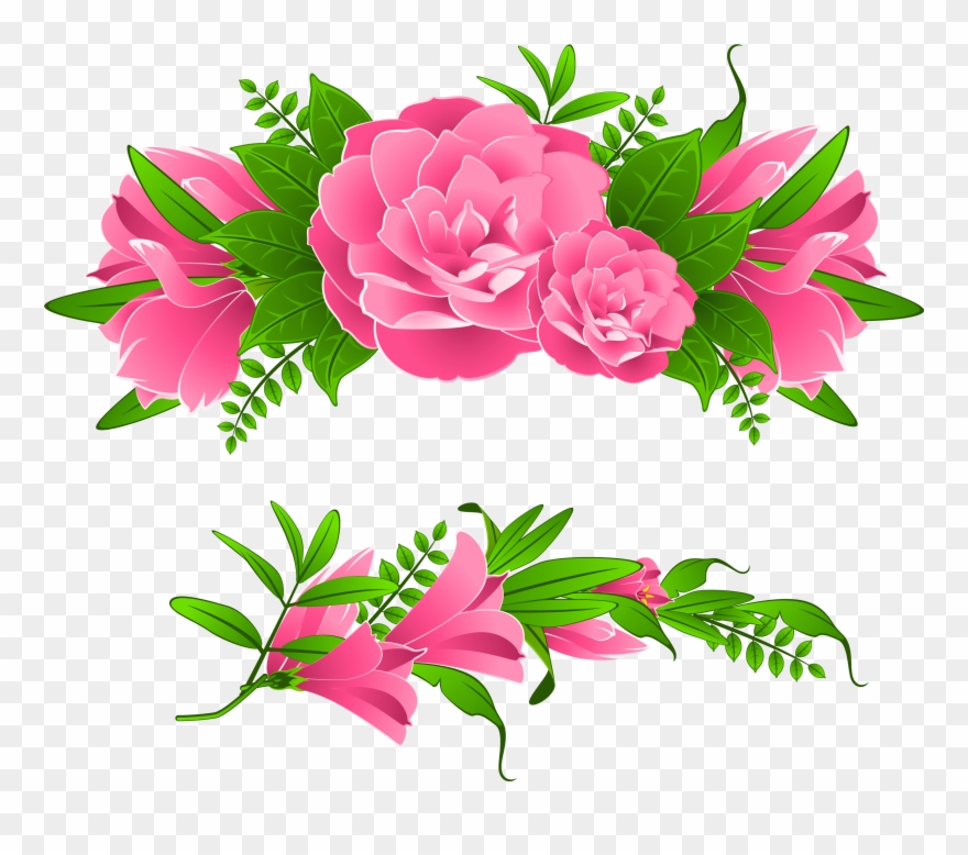 Free Png Flowers Borders Free Png Images Transparent.