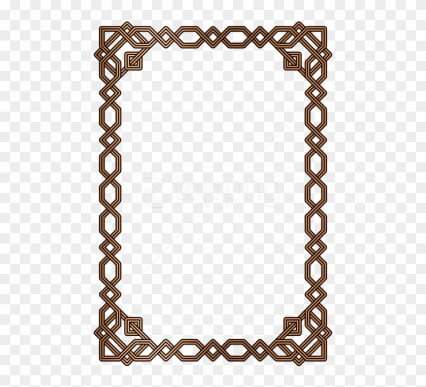 Free Png Download Decorative Border Frame Clipart Png.