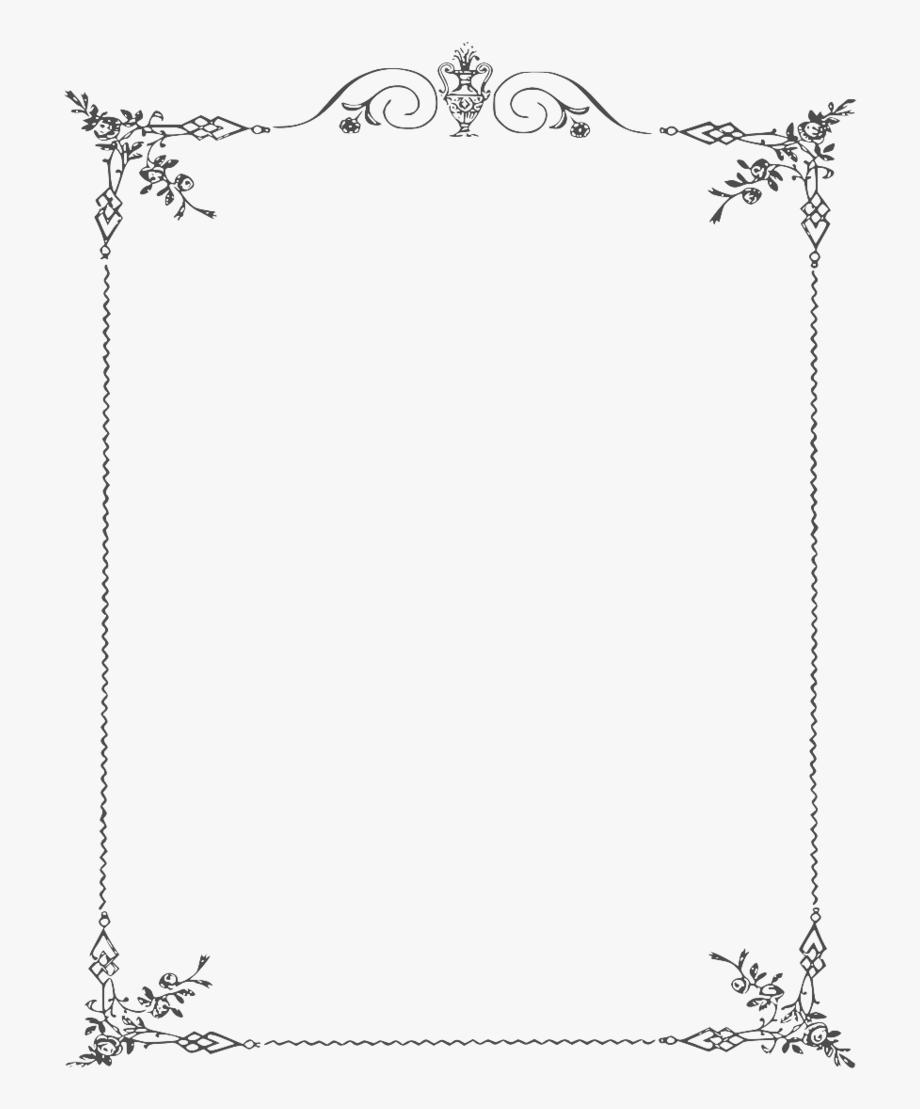 White Border Frame Clipart.