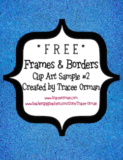 Classroom Freebies: More Free Clip Art Frames, Borders, and.