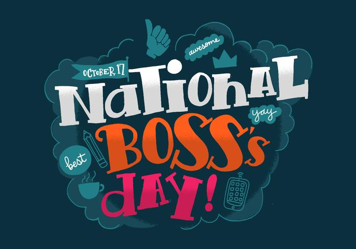 National Boss\'s Day.