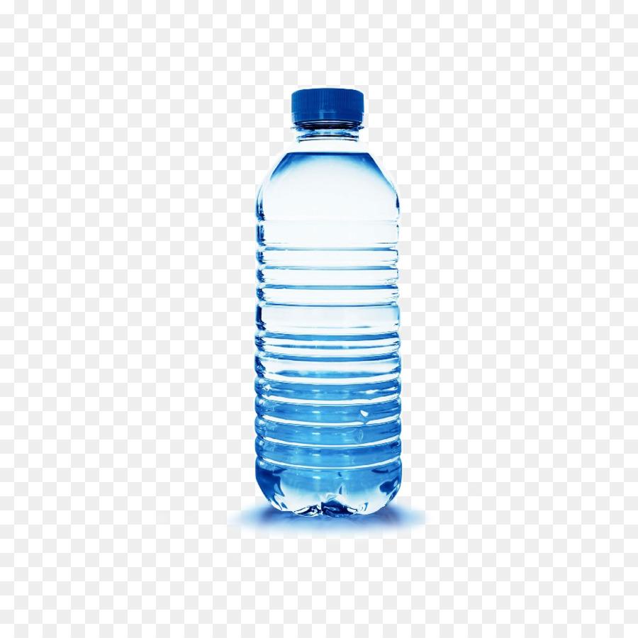Plastic Bottle png download.