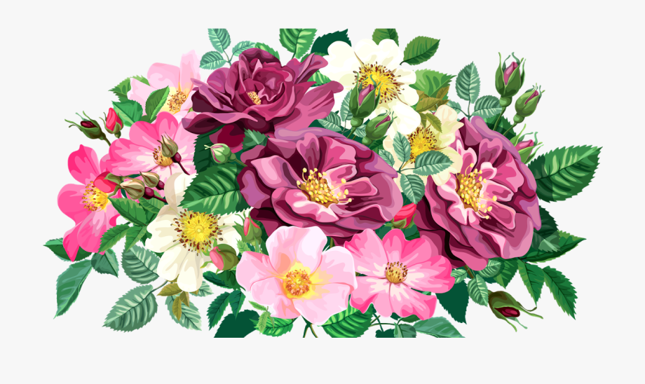 Transparent Background Clip Art Flower Bouquet #1976150.