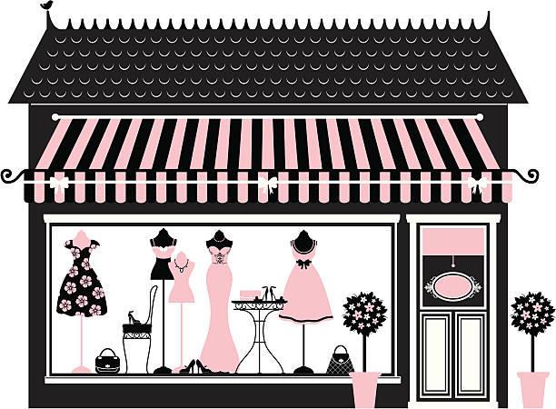 Best Window Shopping Illustrations, Royalty.