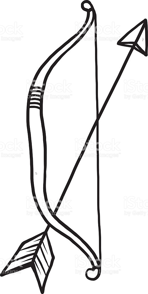 Bow And Arrows Clipart.