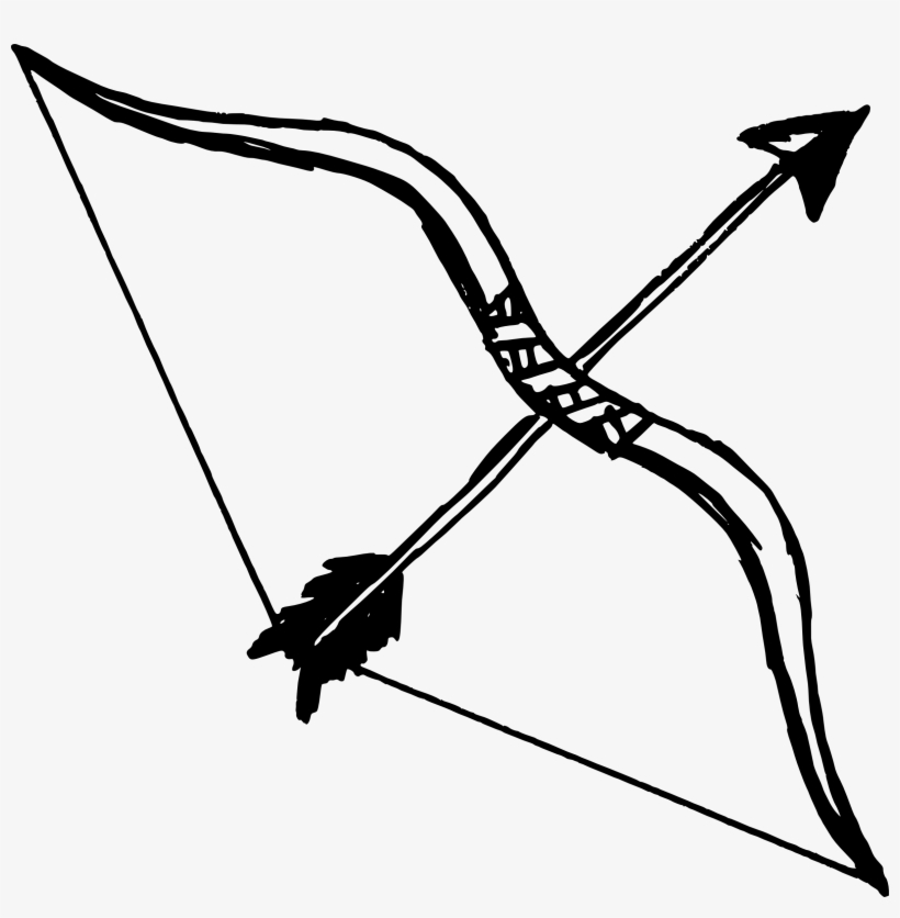 Vector Free Bow And Arrow Transparent Png Pictures.