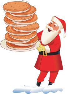 NBA Breakfast with Santa.